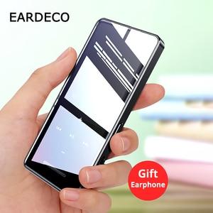 Image 5 - EARDECO מגע כפתור מסך אודיו Mp3 נגן Bluetooth Hifi נייד ווקמן מתכת מוסיקה נגני Mp 3 Hi Fi Flac Lossless