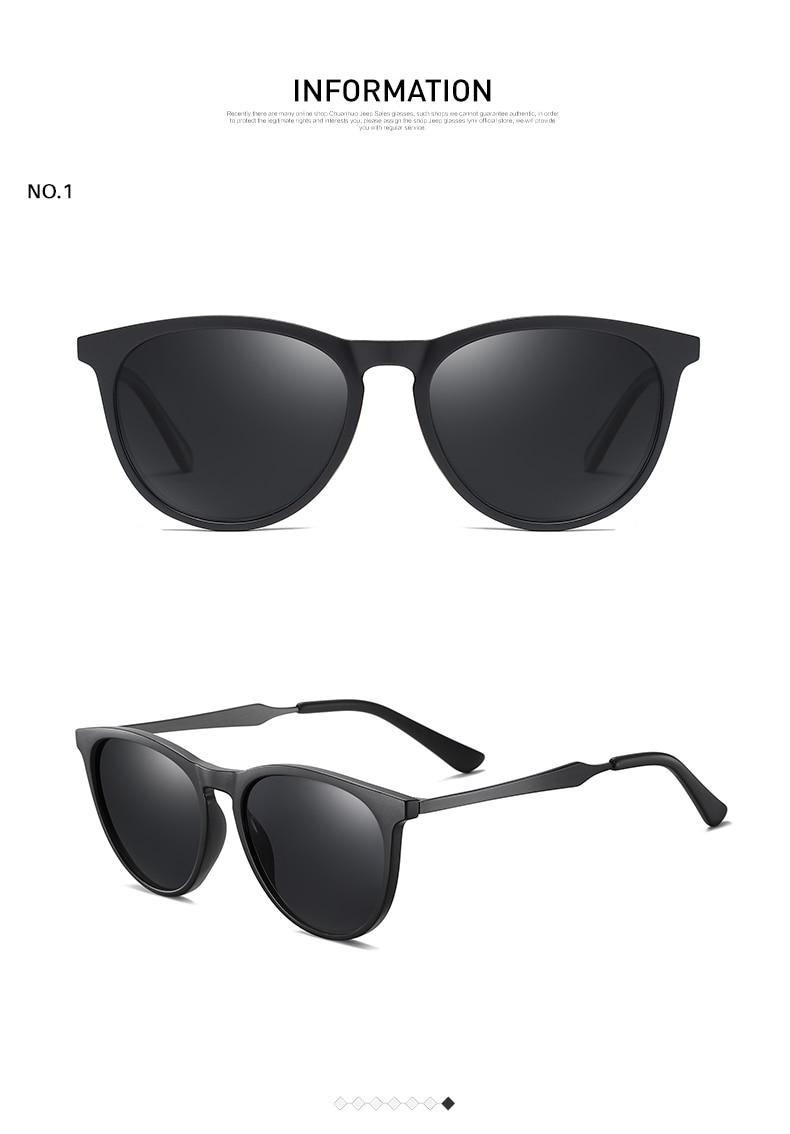Hed69b373c3704518835fe9004e33448eJ AEVOGUE New Women Polarized Korean Fashion Sunglasses Men Driving Retro Outdoor Glasses Brand Design UV400 AE0816