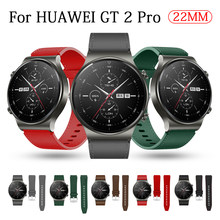Official Style Leather Strap For Huawei Watch GT 2 Pro/GT2 Pro 46MM Smart Watch Band Replaceable Wrist Bracelets Correa 22MM
