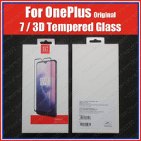 1+7 Front Film OnePlus 7 Original 3D Tempered Glass Screen Protector|Phone Screen Protectors| |  -