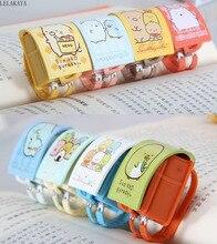 8 adet/takım Sumikko Gurashi şeyler en okul çantası Mini PVC aksiyon figürü anahtarlık kolye oyuncak Kawaii karikatür köşe Bio anahtar bebek