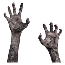 1 Pcs Halloween Creative Ghost Hand Wall Sticker Horror Glass Window Living Room Bedroom Party Atmosphere Decoration