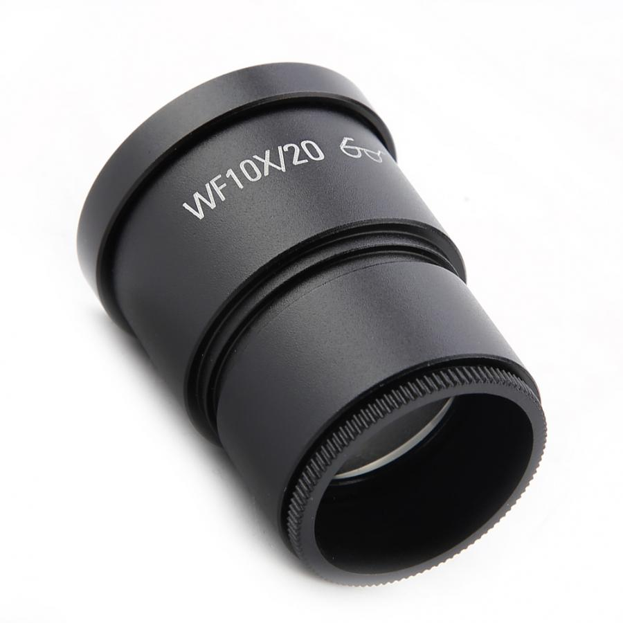 1pc WF10X//20 Wide Field Stereo Microscope Eyepiece Mounting Size 30mm Pangding Microscope Lens