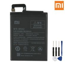 Original XiaoMi Phone Battery BN42 4000mAh For Xiaomi Redmi Hongmi 4 Replacement Li-Polymer Phone Batteries Free Tools недорого