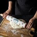 1 шт. KINGLANG Скалка керамические большие бытовые инструменты для выпечки роликовые антипригарные клецки обертки