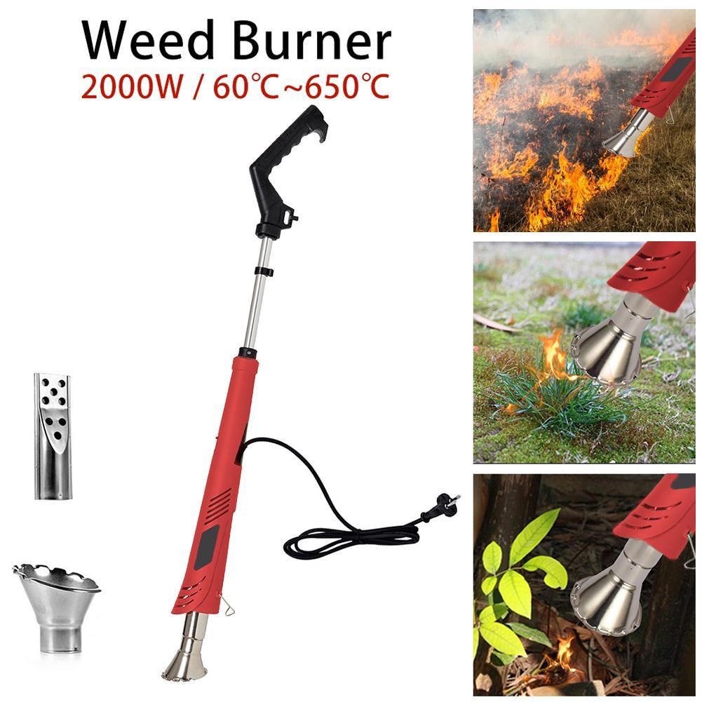 Weed Burner Barbecue Igniter Liquefied Welding Gas Torch Fires Guns Burner Grass Shrub Killer Garden Tools