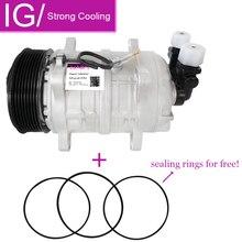 For AC A/C Compressor TM16 Car Air Conditoning 8pk 12V / 24V tm16 compressor