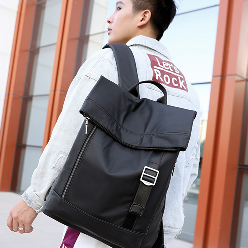 High Capacity Oxford Cloth Business Laptop Backpack Roomy Anti-theft Comfortable Business Men And Leisure Women Backpack