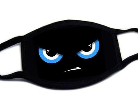 Fashion Cute Cartoon Face Mask Anti-proof Sun Protection Unisex Dust Mouth Mask Multi Style Anti-flu Cotton Facial Protective-H 3