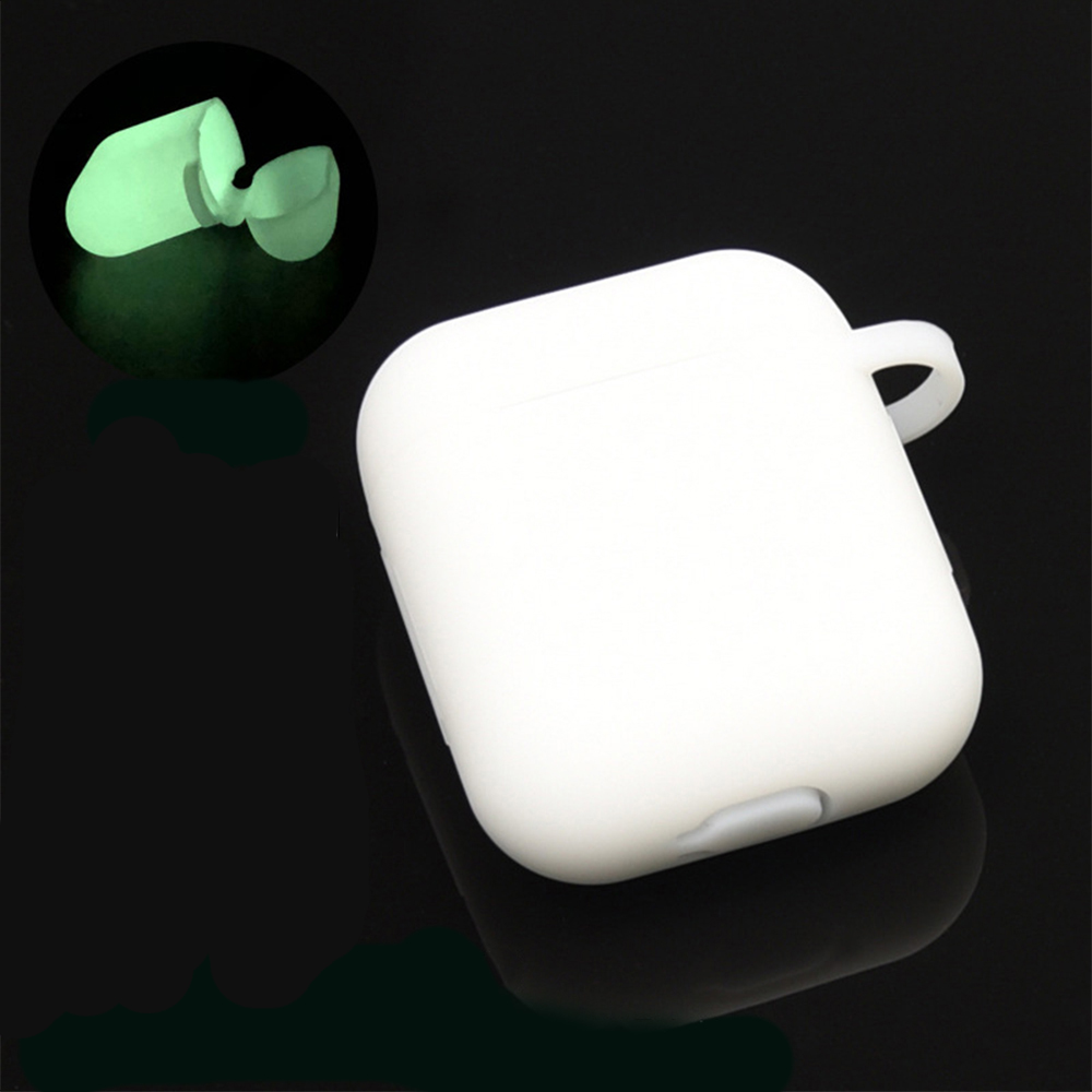 Protective Silicone Case For Airpods 2 Shockproof Anti Lose Earphone Waterproof Cover For Wireless Bluetooth Headset Accessory