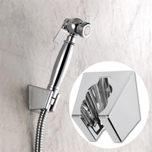 Recableght Handheld Shower Bracket Shower Head Bidet Sprayer Holder Easy Install Durability Wall Mount Clip Bathroom Attachment