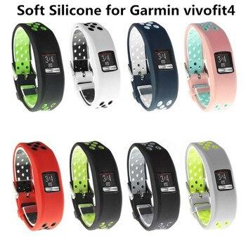 Soft Strap Wristband Band for Garmin Vivofit 4 Vivofit4 Bracelet Smart Watch Activity Fitness Tracker Replacement Wrist Belt