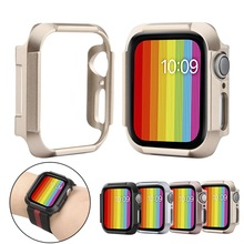Hard Shockproof  case cover For apple watch 4 5 40MM 44MM armor Slim bumper Frame Iwatch