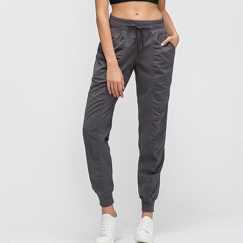Sports Trousers Gym Jogger Boot Cut Pants Wide Leg Yoga Pants Tummy Control Workout Running Exercie Trousers 4 Way Stretch