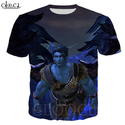 CLOOCL Tower of Eternity Game T Shirt 3D Print Men Women Short Sleeve Sweatshirts Casual streetwear Tops