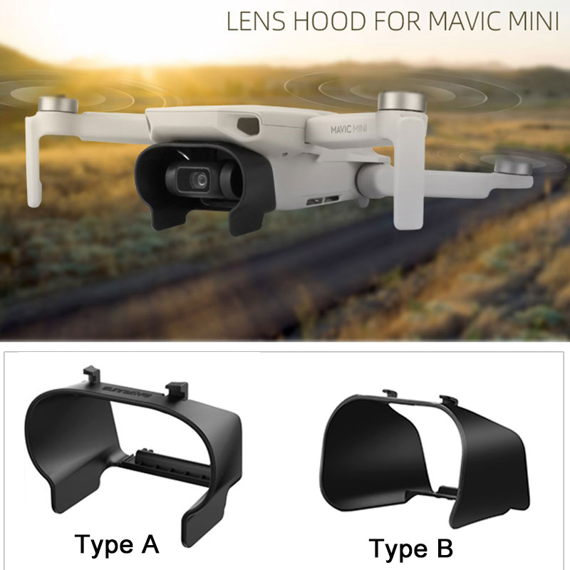 Lens Cover Sunshade Protective Cover For DJI Mavic Mini Lens Hood Anti-glare Gimbal Camera Guard For Mavic Mini Accessories
