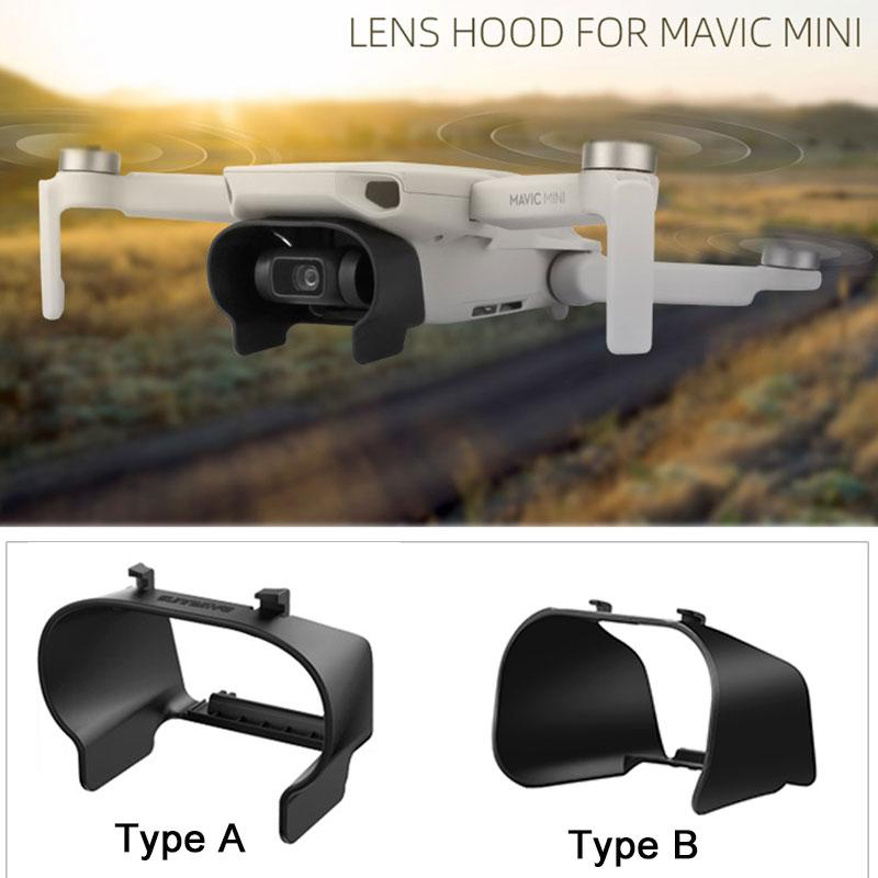 Lens Cover Sunshade Protective Cover For DJI Mavic Mini Lens Hood Anti-glare Gimbal Camera Guard For Mavic Mini Accessories