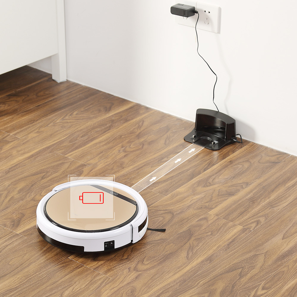 ILIFE V5sPro Robot Vacuum Cleaner vacuum Wet Mopping Pet hair and Hard Floor automatic Powerful Suction Ultra Thin