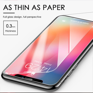 Image 3 - 3Pcs Full Cover Glass on the For iPhone 11 pro X XS Max Tempered Glass For iPhone 11 Pro MAX 7 8 6 6s Plus Screen Protector Film