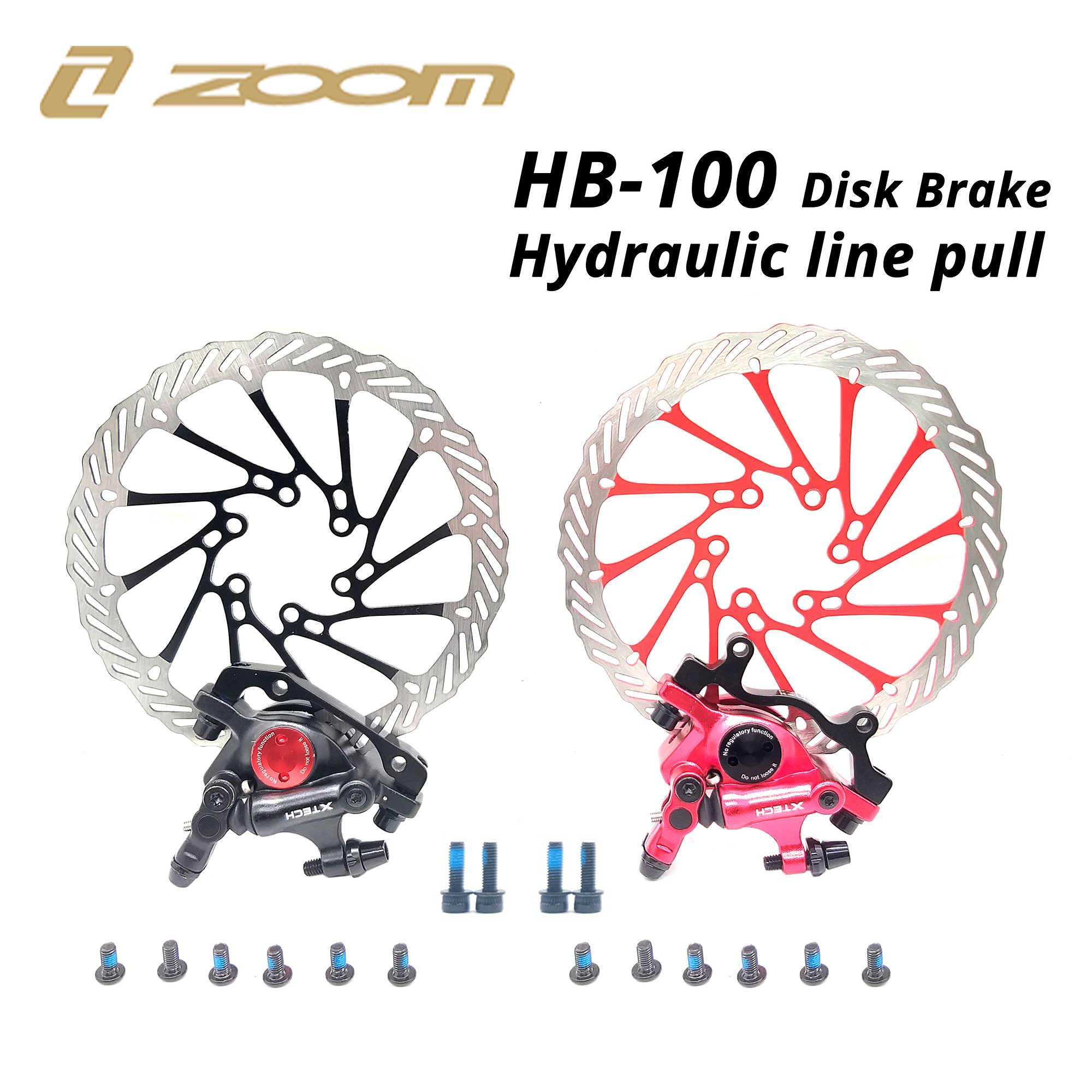 ズーム XTECH HB100 油圧ディスクブレーキシリンダーと HS1 G3 ローターと互換性 M375 TX805 MT200 M315 M365 m395 M447