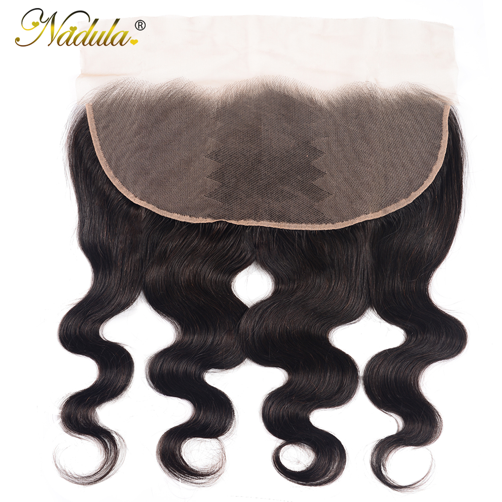 Nadula Hair 13X4 ear to ear Lace Frontal Closure  Body Wave  Frontal Free Part With Baby Hair  Hair 2