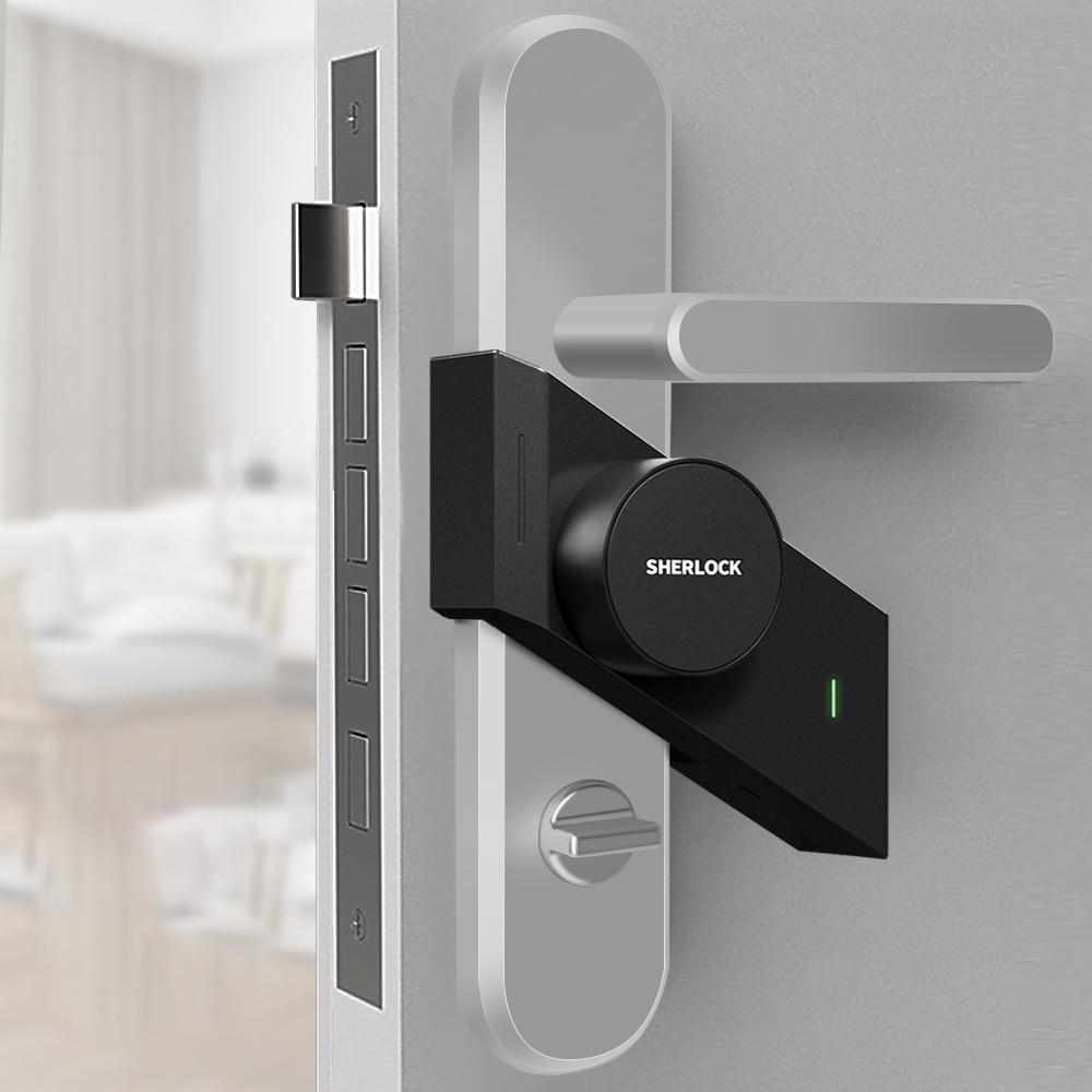 Sherlock Wireless Electric Lock S2 Fingerprint Smart Door Lock Via APP Bluetooth Control Open Security Keyless Integrated Lock