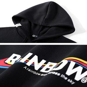 Image 5 - Pioneer Camp Men Hoodies Cotton Hooded Streetwear Winter Warm Fleece Black Blue Fitness Sweatshirts for Male AWY905063