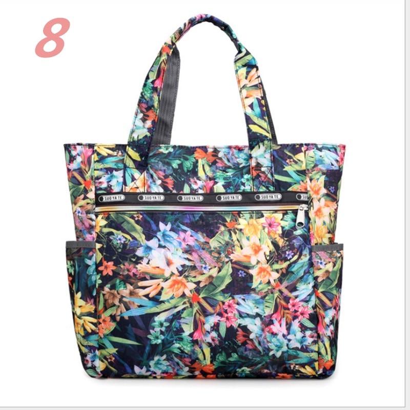 Womens Large Floral Printed Handbag Shoulder Bags Tote Purse Hobo Satchel Bag Shopping Bags
