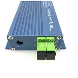 Image 2 - Оптический приемник GPON FTTH с WDM /micro WDM оптический узел SC APC дуплексный разъем с 2 выходами WDM для PON FTTH OR20 CATV