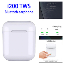 Original i200 TWS Mini Wireless Earphones Bluetooth 5.0 Headphones Pop up Earbuds Headset PK i12 tws i20 i30 i60 H1 W1 Chip