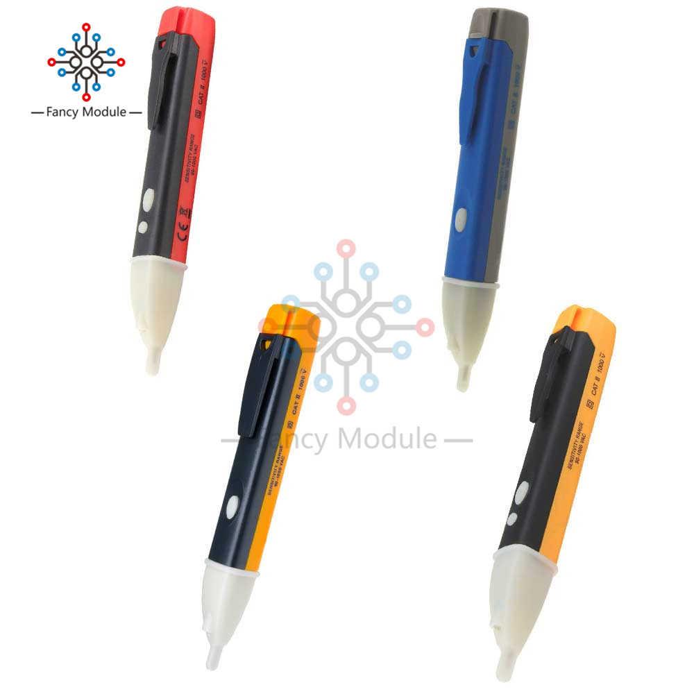 Não-contato teste de indução lápis ac110v 220 v voltímetro voltímetro tensão sonda volt medidor indicador elétrico power detector tester soquete