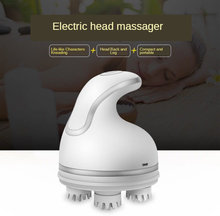 Многочастотный бесшумный массажер для головы талии и ног с четырьмя
