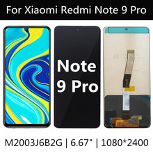 液晶xiaomi redmi注9プロM2003J6A1G lcdディスプレイ + タッチスクリーンアセンブリの交換redmi注9PRO液晶
