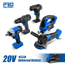 20V Brushless Drill /Angle Grinder/ Burshless Impact Wrench/Air Inflator/Jig Saw Series Bare Power tools