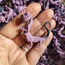 Disney Anime canavarlar a. Ş. 5.5cm bukalemun Randall Boggs aksiyon figürü oyuncakları araba dekorasyon Mini boyutu Randall hediye çocuklar için