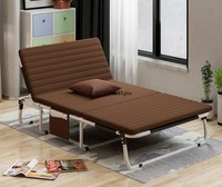 New three folding sheets people double nap simple home accompanying nanny adult recliner office lunch bed|  -