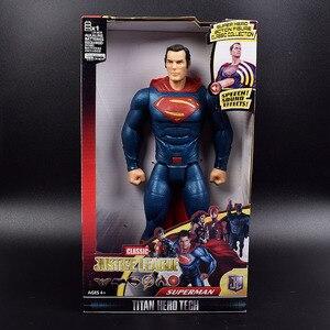 Детская игрушка кукла Супермена, может издавать светильник и звук