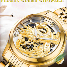 TEVISE 9006 Women Watches Gold Luminous Automatic Self-Wind