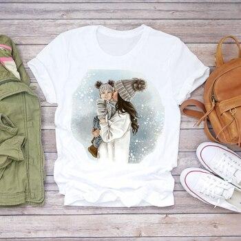 Women Cartoon Super Mom Life Momlife Summer Print Lady T-shirts Top T Shirt Ladies Womens Graphic Female Tee T-Shirt 16