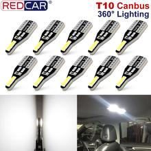Led-Bulb Car-Interior-Lights Reading-Map W5W 6000K Canbus 10pcs T10 Dome-Lamp Error-Free