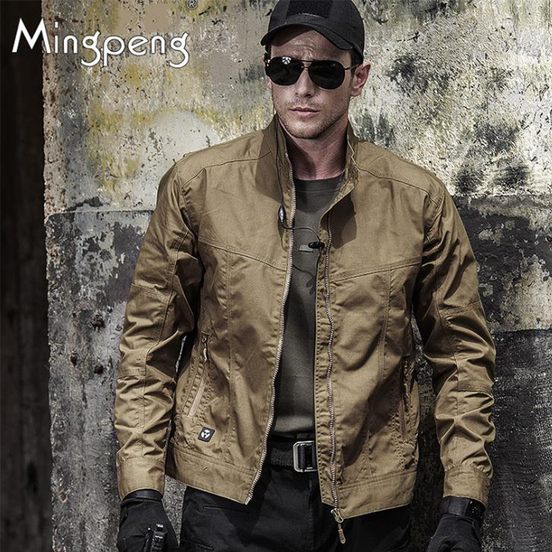 Men Outdoor Military Tactical Army Jackets Windproof Wear Resistant Breathable Ultralight Tops Climbing Combat Training Jacket