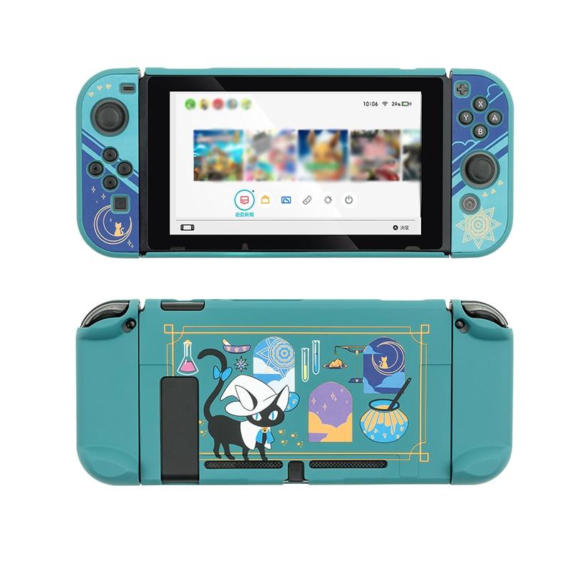 For Nintendo Switch Case Alchemy Cat Magic Potion Cute Cartoon Panda Hard Cover Protetive Shell for For Nintendo Switch Console