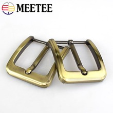 2/5pcs Hot Sale Men Solid Belt Buckles Metal Pin Buckle For 38-39mm Replacement Snap Hardware Jeans Accessories