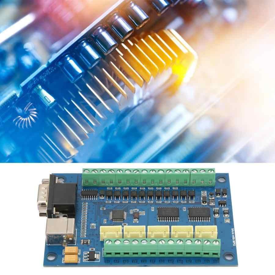 Controlador de motor paso a paso USB 5 ejes 100K tarjeta de Control + 4 piezas tablero de controlador CNC juego de Control de movimiento servo tarjeta de controlador de movimiento