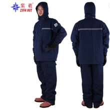 Winter protection Freezer cotton clothing winter jacket cold-proof cotton-padded sets