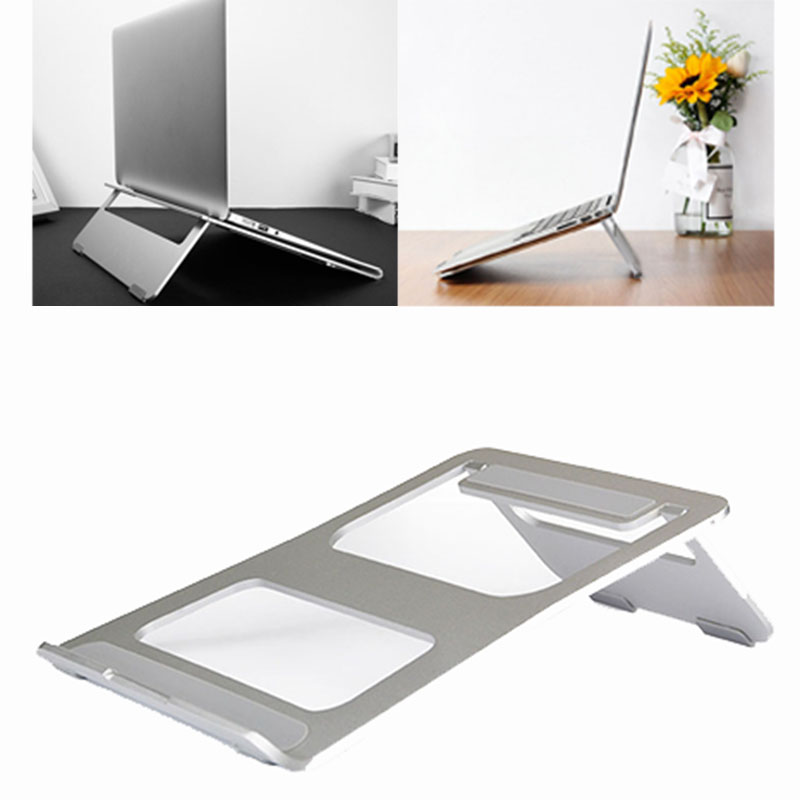 Metal Laptop Stand Aluminium Alloy Notebook Cooling Holder  OUJ99