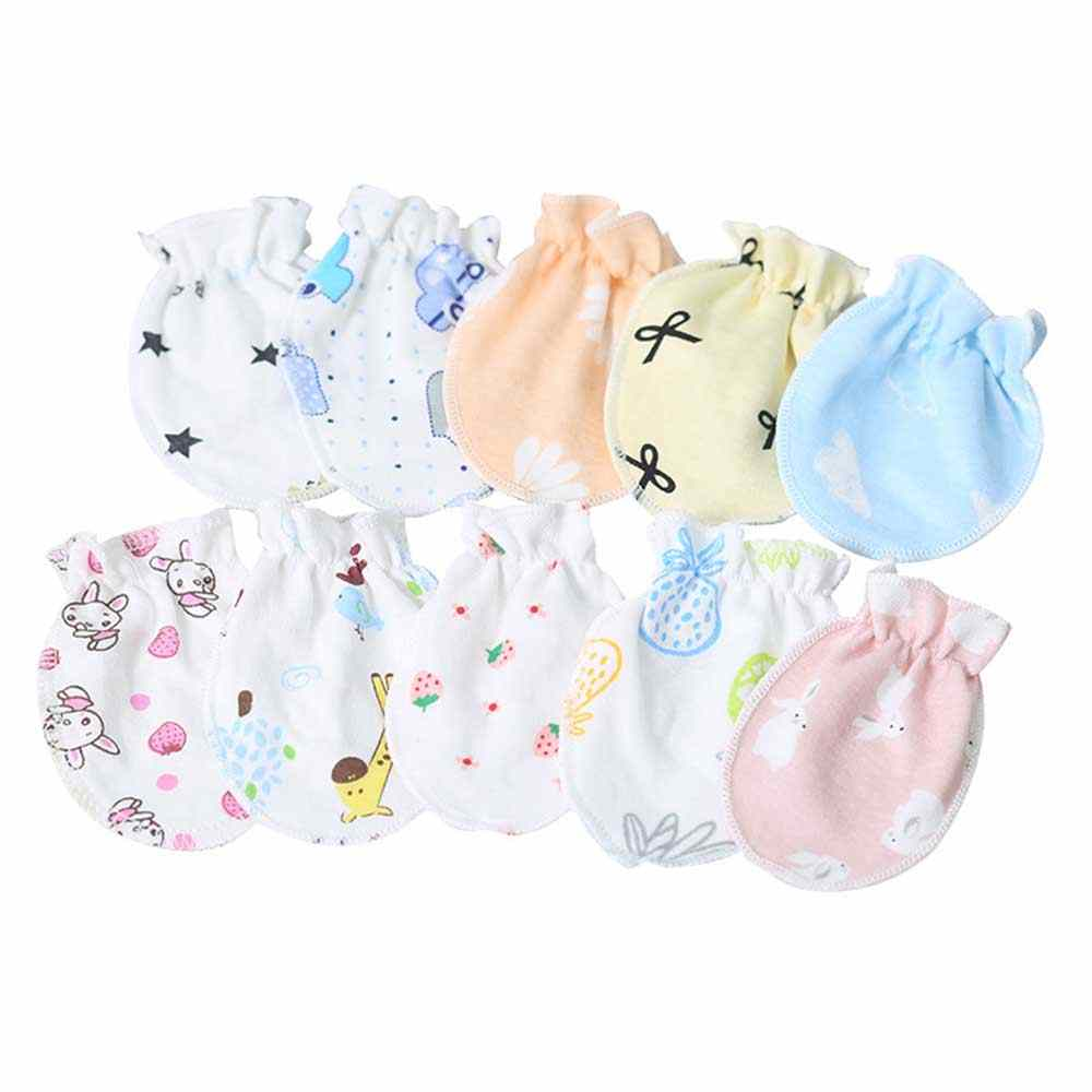3 Pair//Set Baby Gloves Newborn Infant Anti-grab Glove Face Protect Baby Mitten
