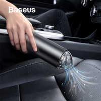 Baseus Auto Aspirapolvere Senza Fili Tenuto In Mano 4000Pa Auto A Casa Coperto di Interni Auto Mini Pulitore Portatile Auto Aspirapolvere