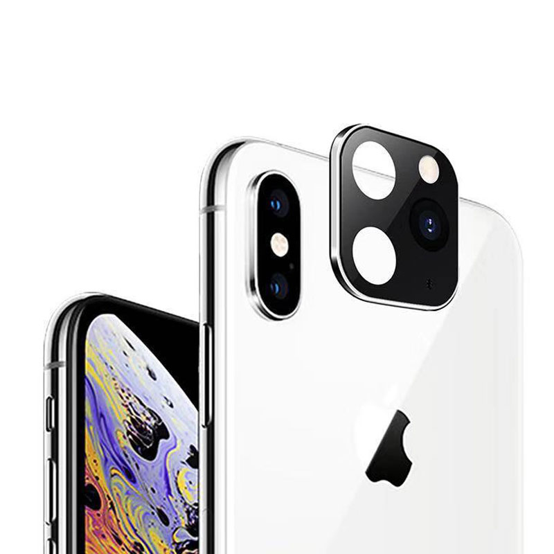 Applicable For iPhone Apple X Seconds Change 11 Lens Sticker XSMAX Modified 11PROMAX Explosion Modified Lens 11PROMAX Camera (4)