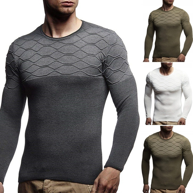 ZOGAA Men's Sweater Knitted Shawl Turtleneck Sweater Pullover Winter Streetwear Long Sleeve High Quality Casual Man's Sweaters